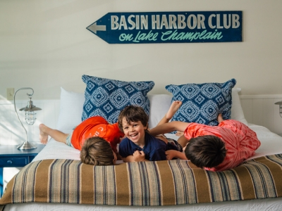 Kids at Basin Harbor Club